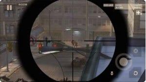 City Sniper Shooting screen