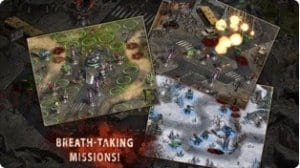 Dead Defence screen