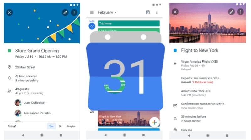 Google-Calendar-interface
