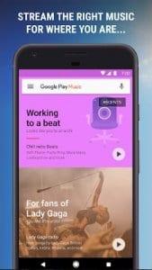 Google Play screen