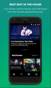 LiveXLive screen1