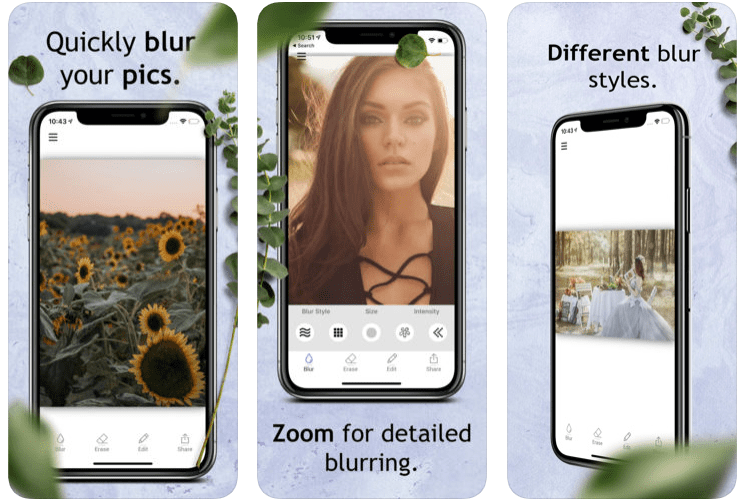 Photo Blur Background Editor'