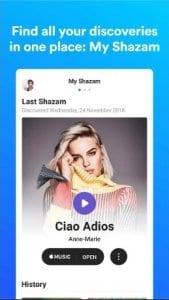 Shazam screen1