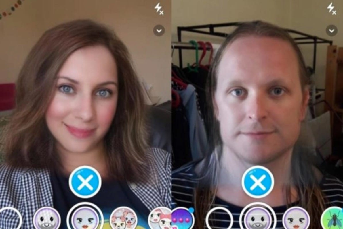 Snapchat gender change