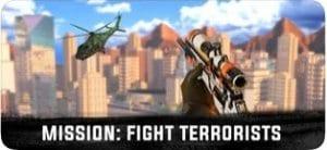 Sniper 3D Assassin Gun Games screen