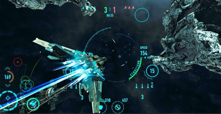 Star Combat screen