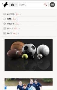 Swisscows Search screen2