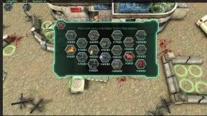 Zombie Defense screen