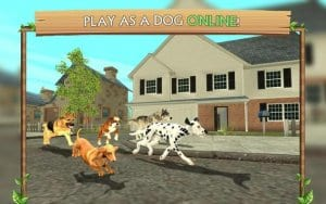 dog sim screen