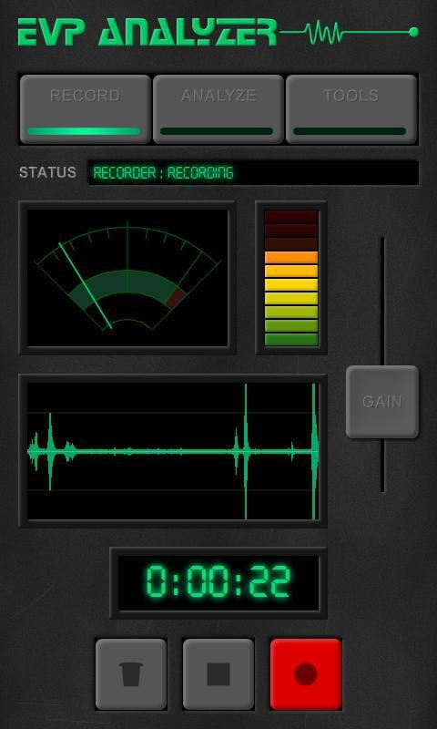 evp-analyzer-interface
