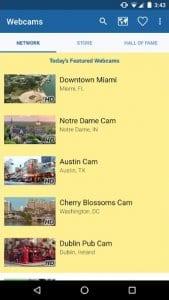 webcamss screen