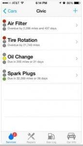 Car Minder Plus - Car Maintenance and Gas Log (MPG)