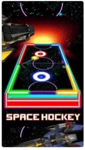 Glow Hockey HD - 2 Player Neon Light Air Hockey