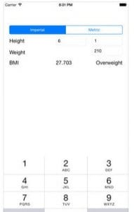 BMI Calculator - Simple Body Mass Index Calculator