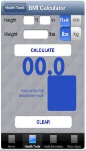 BMI Calculator - Body Mass Index Calculation App