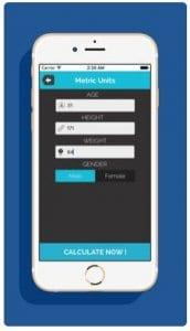 Smart weight BMI Calculator