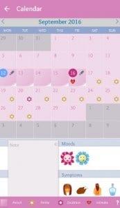 Period diary