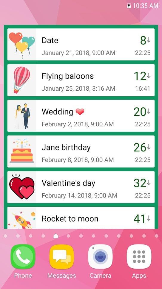 Countdown-days--app-and-widget-screen
