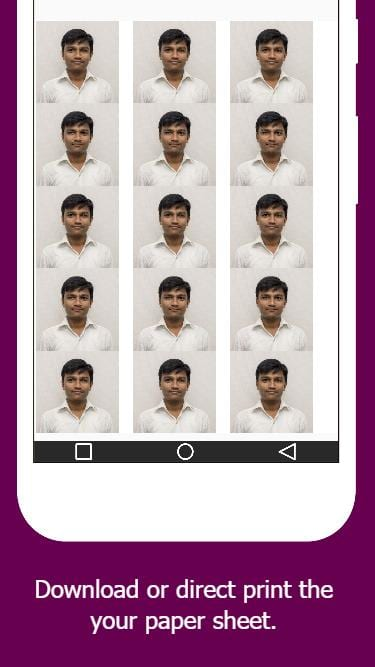 Passport Photo Maker(Creator)-screen