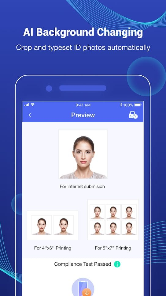 Photid-AI Passport Photo Booth-screen