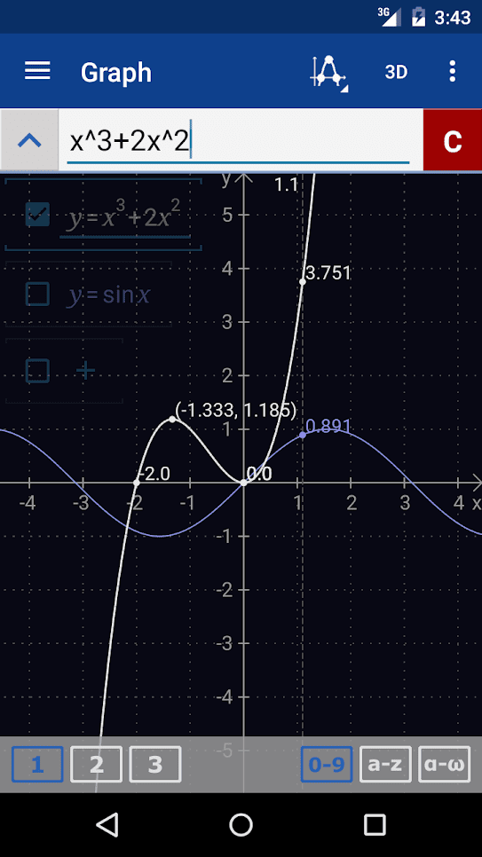 graphing-screen