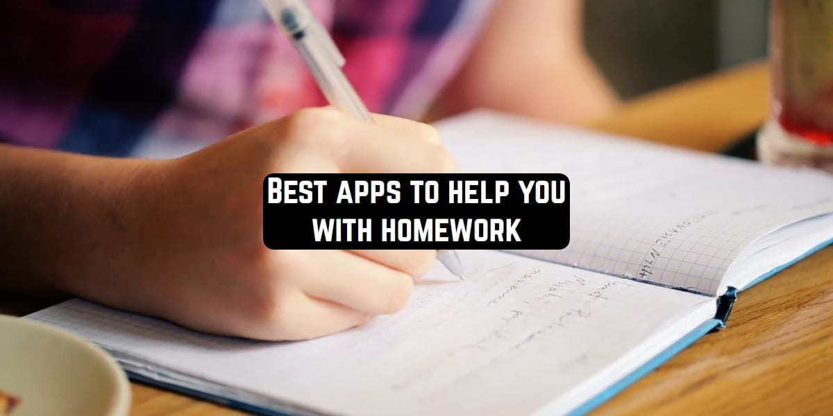 Best apps to help with homework