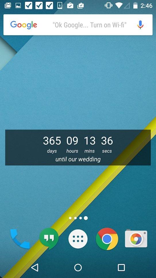 wedding-countdown-widget-screen