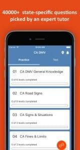 DMV Permit Practice