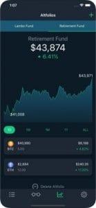 CoinCap screen