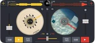 Cross DJ screen