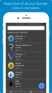 CryptoTrax screen1