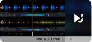 DJ Player Professional screen