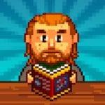 Knights of Pen & Paper 2, Pixel RPG, Retro Game-logo