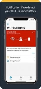 Norton Mobile Security screen