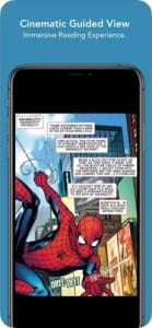 comiXology screen