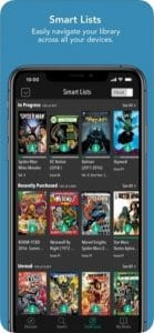 comiXology screen1