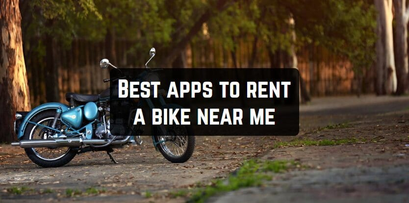 Best apps to rent a bike near me