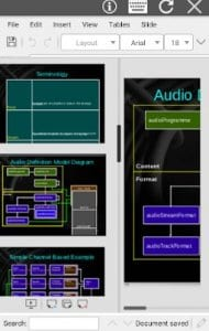 AndrOffice editor DOC XLS PPT