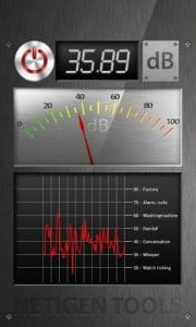 Best Sound Meter screen
