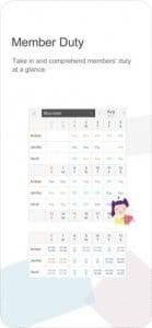 MYDUTY - Nurse Calendar screen1