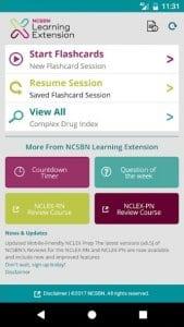 NCSBN screen