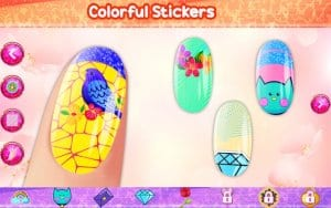 Nail Art - Color by Number, Nail Polish Coloring