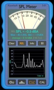 SPL Meter screen1