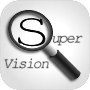 SuperVision+ Magnifier logo