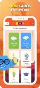 eTABU - Social Game screen