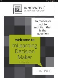 mLearning Decision Maker