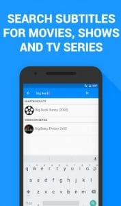 Subtitles for Movies & TV Series