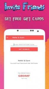 DaCash - Free gift cards