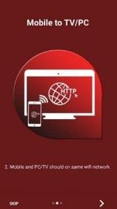Mobile to PC Screen Mirroring/Sharing