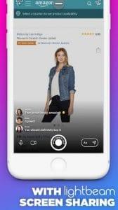 lightbeam - screen sharing